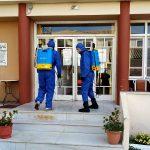 Π.Ε. Λευκάδας: Στο πλευρό του Γηροκομείου και της Πυροσβεστικής στη μάχη κατά του κορονοϊού