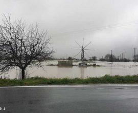 Το Οροπέδιο Λασιθίου μετράει τις πληγές του από τις πλημμύρες