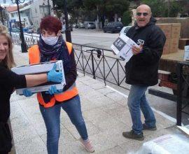 Κανείς μόνος, κανείς χωρίς τα απαραίτητα στον Δήμο Διονύσου