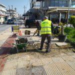 Δήμος Κατερίνης: Παρεμβάσεις αποκατάστασης βατότητας στον πεζόδρομο της Τ.Κ. Παραλίας