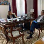 Τα μέτρα πρόληψης για την πανδημία στο επίκεντρο συνάντησης του Δημάρχου Κατερίνης με την επικεφαλής του Γραφείου του Πρωθυπουργού στη Θεσσαλονίκη