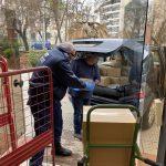 Η Περιφέρεια Κεντρικής Μακεδονίας παρέδωσε σήμερα είδη ατομικής προστασίας και υγιεινής σε ΕΛΑΣ, Πυροσβεστική και Λιμενικό