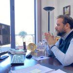 Τηλεδιάσκεψη του Περιφερειάρχη, Ν. Φαρμάκη, με εκπροσώπους των παραγωγικών φορέων της Δυτικής Ελλάδας