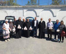 Επίσκεψη του Δημάρχου Κατερίνης Κώστα Κουκοδήμου στα συσσίτια της Ιεράς Μητροπόλεως Κίτρους