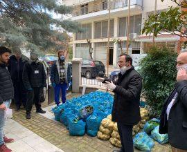 Δήμος Σερρών: Διανομή προϊόντων από Σερραίους παραγωγούς της Λαϊκής Αγοράς