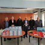 Ο Δήμος Πειραιά παρέδωσε ασπίδες προστασίας προσώπου στον Ιατρικό Σύλλογο Πειραιά