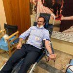 Προσφορά αίματος στις Σέρρες, με πρώτο το δήμαρχο Αλέξανδρο Χρυσάφη