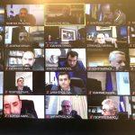 Τηλεδιάσκεψη του Γ. Πατούλη με τους 53 Δημάρχους της Αττικής και με τη συμμετοχή του υπ. Εσωτερικών Π. Θεοδωρικάκου