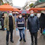 Κλιμάκιο του Δήμου Βύρωνα στις λαϊκές για την τήρηση των μέτρων προστασίας