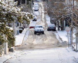 Στα λευκά ο Χορτιάτης – Χιόνια και στην Ελασσόνα