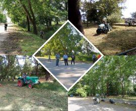 Δήμος Κατερίνης & εθελοντές άλλαξαν την εικόνα πέριξ του εξωκκλησίου της Ζωοδόχου Πηγής στην Περίσταση