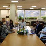 Συνάντηση του Περιφερειάρχη Αττικής Γ. Πατούλη με τον Πρόεδρο του Δ.Σ. του Ωδείου Αθηνών