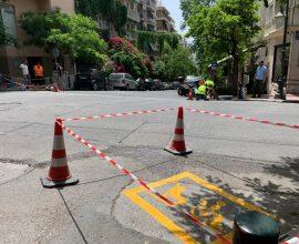 Ειδική σήμανση στις ράμπες του Δήμου Αθηναίων για αποτροπή της παράνομης στάθμευσης