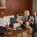 Συνάντηση δημάρχου – διοικητή ΣΤΑΣΥ για εύρυθμη λειτουργία σταθμού ΗΣΑΠ Ηράκλειο