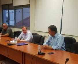Σε εξαιρετικό κλίμα η συνάντηση εργασίας του Υπουργού Υποδομών και Μεταφορών με την Δημοτική Αρχή Βισαλτίας