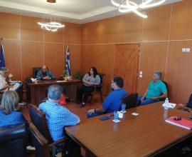Συνάντηση της Ένωσης Ξενοδόχων με τον Δήμαρχο Δυτικής Λέσβου για τις επιπτώσεις της πανδημίας στον τουριστικό κλάδο
