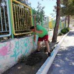 Δήμος Ρόδου: Δενδροφύτευση στο Α' Δημοτικό Σχολείο Αρχαγγέλου