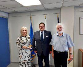 Συνεργασία του Δημάρχου Ιωαννιτών στην ΕΕΤΑΑ