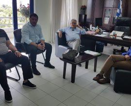 Δήμος Ρόδου: Συνάντηση της Διοίκησης της ΔΕΥΑΡ με τον Πρόεδρο της Κοινότητας Αφάντου