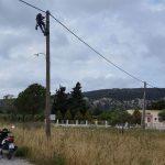 Δήμος Ρόδου: Σημαντικές παρεμβάσεις στην Δ.Ε. Πεταλούδων από την Υπηρεσία Ηλεκτροφωτισμού