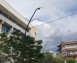 Ο Δήμος Σιντικής φωτίστηκε με τα νέα φωτιστικά σώματα τύπου LED