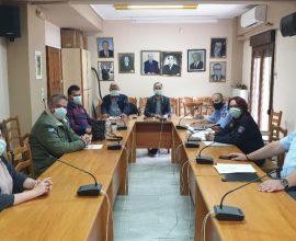 Συνεδρίαση του ΤΕΣΟΠΠ Δήμου Μουζακίου υπό την προεδρία Δημάρχου Μουζακίου και Πρόεδρου Συντονιστικού Οργάνου