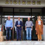 Ο Δήμος Σερρών παραχώρησε 50 φιάλες 1L αντισηπτικού στην Πανεπιστημιούπολη Σερρών