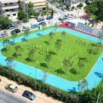 Δήμος Γλυφάδας: Πολυχώρος άθλησης βγαλμένος από τα παραμύθια στην Άνω Γλυφάδα