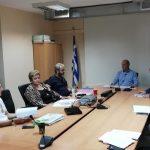 Συνάντηση εργασίας στο Δημαρχείο Διονύσου για το αναπτυξιακό πρόγραμμα «Αντώνης Τρίτσης»