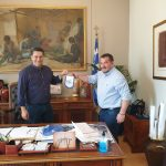 Συνάντηση Δημάρχου Αγρινίου με τον Πύρρο Δήμα