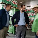 Επίσκεψη του Περιφερειάρχη, Ν. Φαρμάκη, σε παραγωγικές μονάδες τυποποίησης αγροτικών προϊόντων