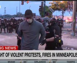 Σάλος στις ΗΠΑ- Συνέλαβαν συνεργείο του CNN στον αέρα, στην Μινεάπολη