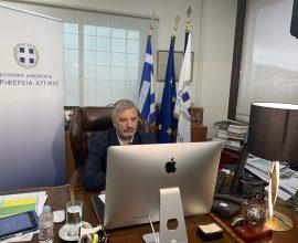 Πατούλης: «Βρισκόμαστε εδώ για να στηρίξουμε τις επιχειρήσεις και τους πολίτες που έχουν πληγεί από την πανδημία του κορονοϊού»