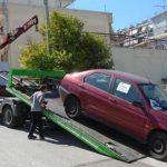 «Σκούπα» στα εγκαταλελειμμένα οχήματα από τον Δήμο Λέρου