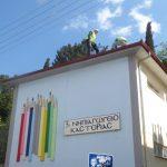 Αντικατάσταση της σκεπής του 3ου Νηπιαγωγείου από τον Δήμο Καστοριάς