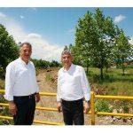 Αντιπλημμυρικά έργα ύψους 5 εκ. ευρώ στους παραποτάμους του Πηνειού στα Τρίκαλα από την Περιφέρεια Θεσσαλίας