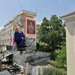 """Οι άδειοι τοίχοι """"γεμίζουν"""" ιστορία: Γκράφιτι στον Πύργο από τον Δημοτικό Οργανισμό Πολιτισμού"""