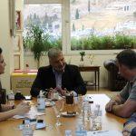 Συνάντηση του Περιφερειάρχη Αττικής με τον Πρόεδρο της Πανελλαδικής Συνομοσπονδίας Ελλήνων Ρομά (ΕΛΛΑΝ ΠΑΣΣΕ)