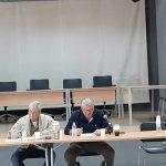 O Πρόεδρος του Σ.Π.Α.Π., Β. Σιώμος στην 2η διευρυμένη Συνεδρίαση Συντονιστικού Οργάνου Πολιτικής Προστασίας του Δήμου Διονύσου
