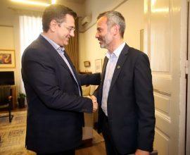 ΠΚΜ: Συνάντηση Απ. Τζιτζικώστα με Κ. Ζέρβα