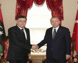 Προχωρούν στα σχέδια τους Τουρκία και Λιβύη, συνάντηση Ερντογάν- Σάρατζ στην Άγκυρα