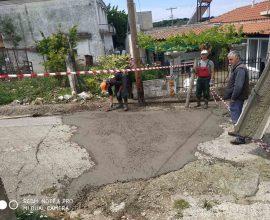 Αποκαταστάσεις οδοστρωμάτων στον Δήμο Μαρώνειας-Σαπών