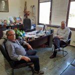 Συνάντηση του Προέδρου της ΠΕΔ Κρήτης Γ. Κουράκη με τον Δήμαρχο Πλατανιά