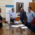 Συνάντηση Περιφερειάρχη Κρήτης με την διοίκηση του Σωματείου Οδηγών Τουριστικών Λεωφορείων «ΕΡΜΗΣ»