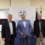 Συνάντηση του Περιφερειάρχη Αττικής με τον Πρόεδρο της Πανελλήνιας Ομοσπονδίας Συλλόγων Εθελοντών Αιμοδοτών