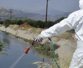 Δήμος Δέλτα: Συνεχίζονται οι ψεκασμοί για την καταπολέμηση των κουνουπιών