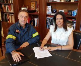 Δήμος Κ. Κέρκυρας: Ίδρυση κλιμακίου της Πυροσβεστικής στην Παλαιοκαστρίτα