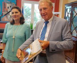 Συνεργασία για την διαχείριση των απορριμμάτων και την επανεκκίνηση του τουρισμού από τη Γερμανία στα Ιόνια Νησιά