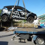 Καταγραφή και απόσυρση εγκαταλελειμμένων οχημάτων από τον Δήμο Νέας Ιωνίας