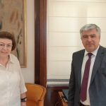Συνάντηση του Δημάρχου Πρέβεζας με την Υπουργό Πολιτισμού στο Υπουργείο